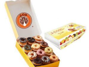 1 Dzn J.Cronut + J.Cool To Go Donuts & Coffee Taloc Jastip.