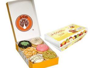 1.2 Dzn Donut + J.Cool To Go J.CO Donuts & Coffee Taloc Jastip