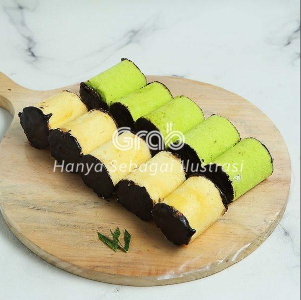 Banana Roll Bika Ambon Zulaikha Taloc jastip
