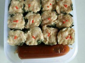 Dimsum rumput laut isi 20 + juice Yeaa Durian Pancake & Dimsum