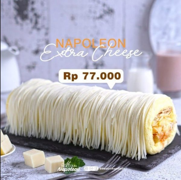 Napoleon Extra Cheese Taloc Jasa Titip