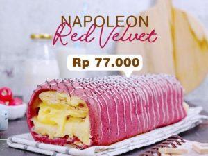 Napoleon Red Velvet Taloc Jastip