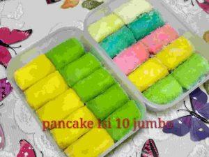 Pancake Jumbo Isi 10 durian Taloc Jasa Titip