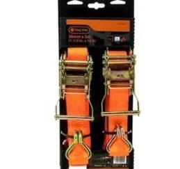 Tactix Tali Ratchet Tie Down Jj Hook 3.8cm X 5 Mtr 1000 Kg